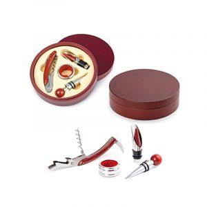 set-para-vinos-con-caja-circular-de-madera-ladespensa-medellin